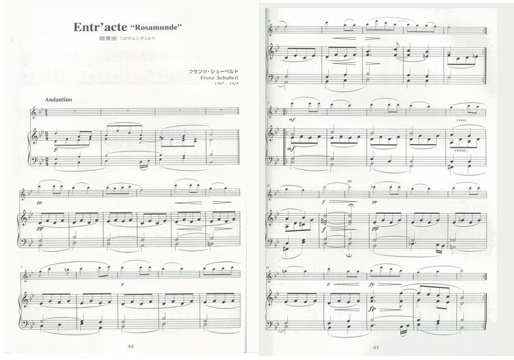 27 日本进口DOREMI 钢琴伴奏的长笛小曲集 附CD