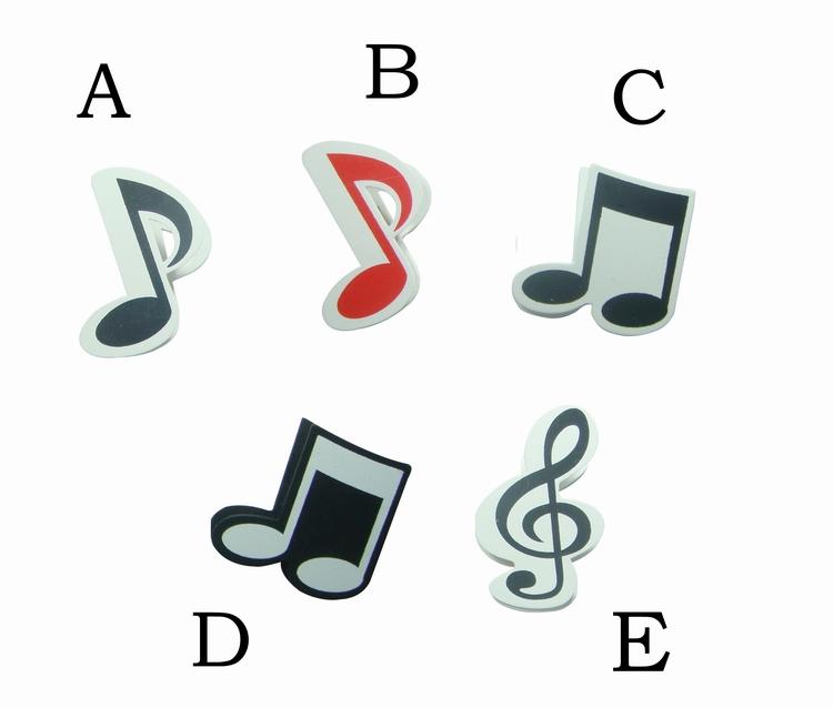 (黑底)、E 高音谱记号,共5款.7x7cm  您也可以参考下列商品─