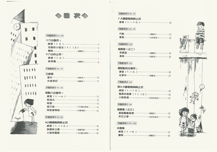 M045 日本DOREMI 儿童拜尔技巧教本 五