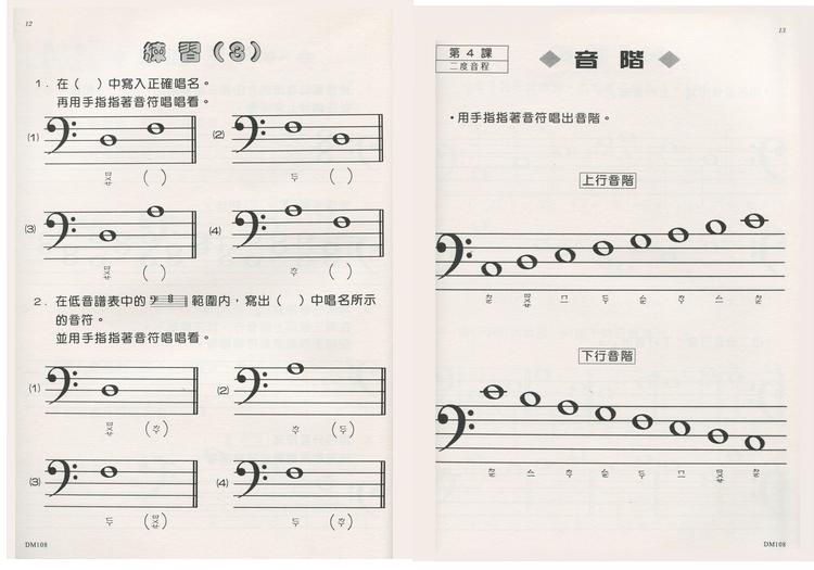 doremi和五线谱的区别