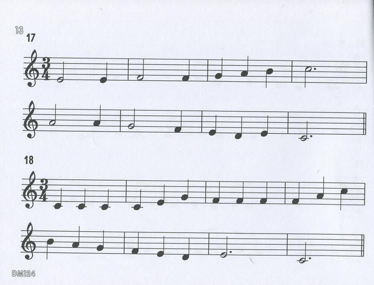 dm124《日本doremi》快乐的视唱视奏与听音-中级