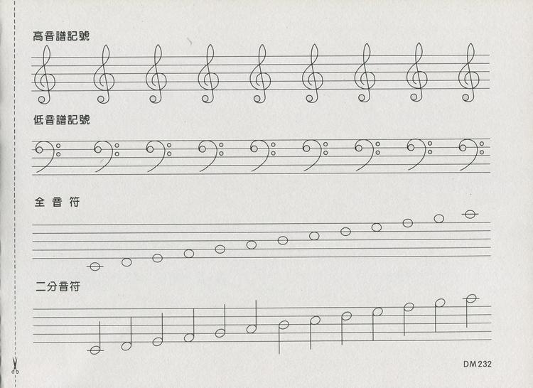 doremi陶笛乐谱