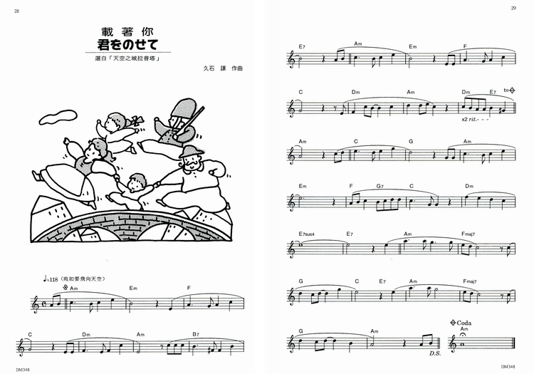 M348 日本DOREMI 快乐的高音直笛