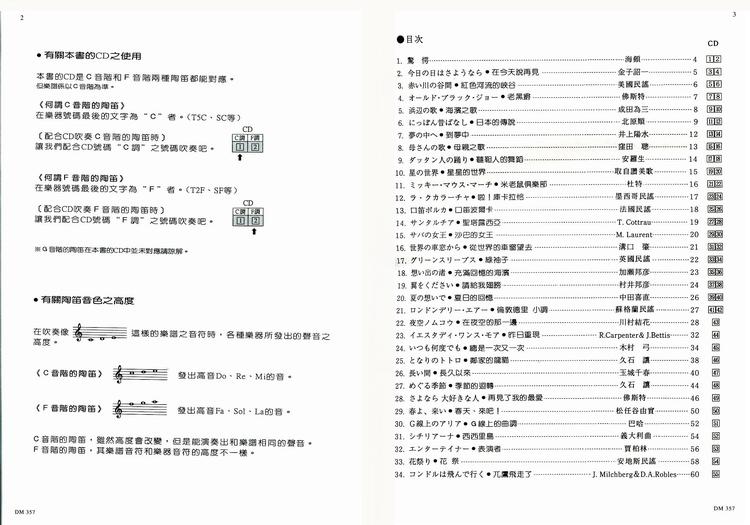 dm357《日本doremi》有趣的陶迪入门2【cd 乐谱】